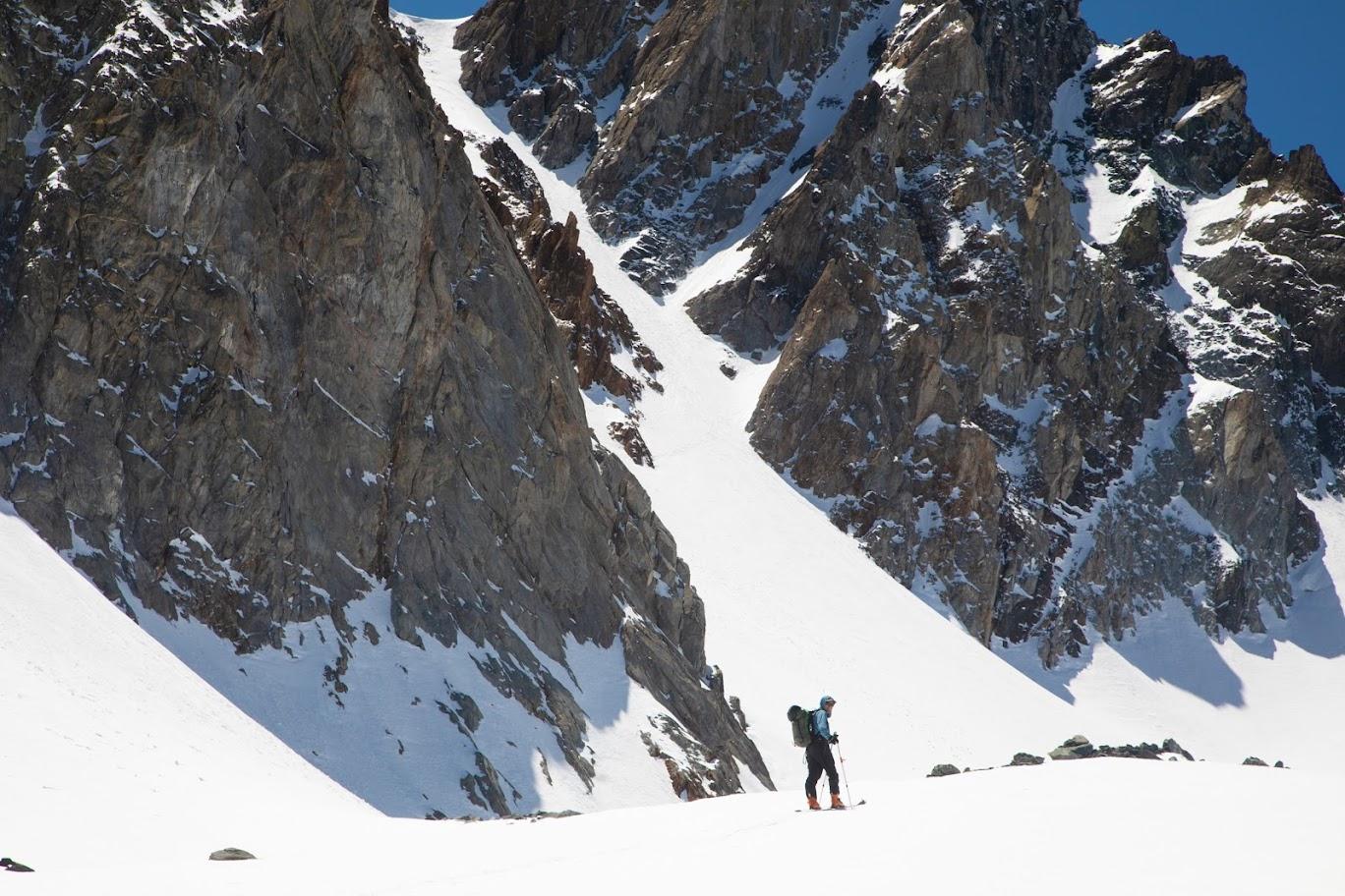 Ski tour Green Creek to Twin Lakes-51